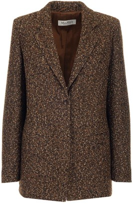 Max Mara Giove Tweed Blazer