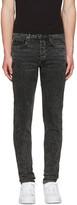 Rag & Bone Black Standard Issue Fit 1 Jeans