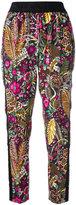 3.1 Phillip Lim floral print jogger pants - women - Silk/Spandex/Elastane/Viscose - 2