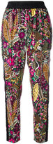 3.1 Phillip Lim floral print jogger pants - women - Viscose/Spandex/Elastane/Silk - 4