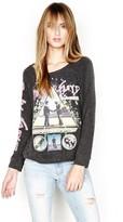 Lauren Moshi Brenna L/S Pullover in Black