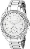 Vince Camuto Women's VC/5263WTSV Swarovski Crystal Accented Silver-Tone Bracelet Watch