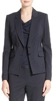 BOSS Women's Jakinala Pinstripe Suit Jacket