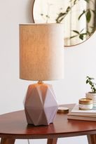 Urban Outfitters Faceted Pastel Table Lamp