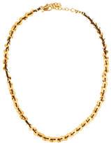 Chan Luu Woven Disc Collar Necklace