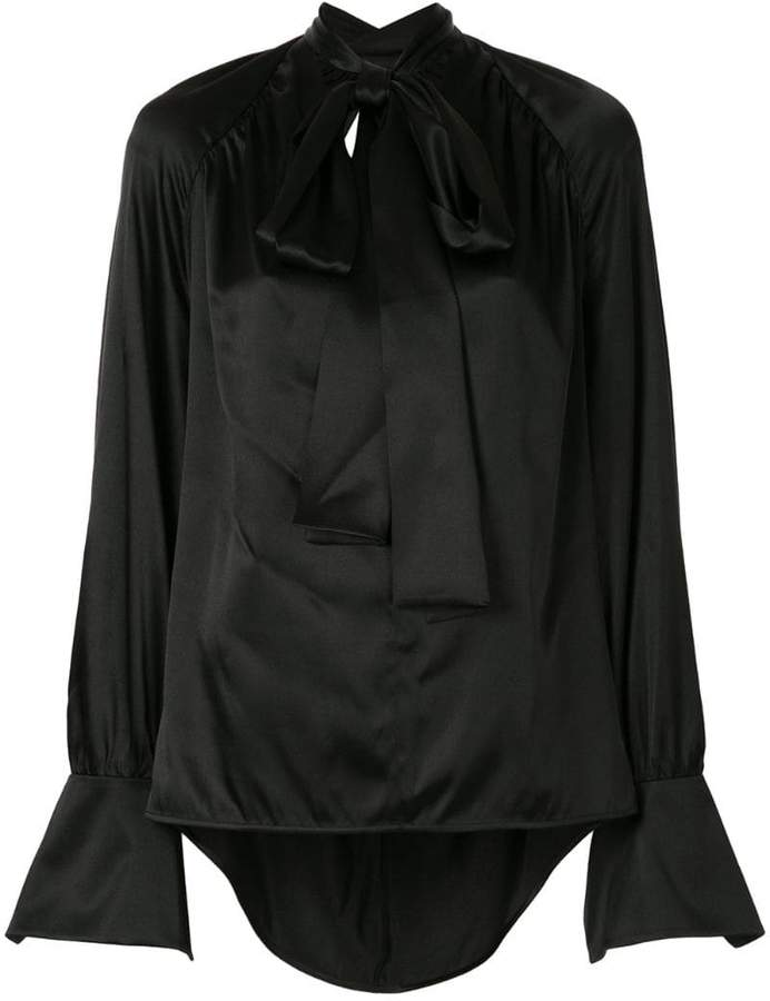 Petar Petrov V-neck open-back blouse
