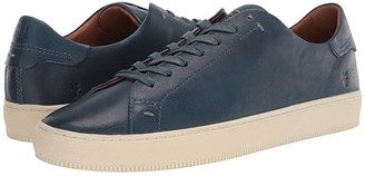 Frye Astor Low Lace (Black Brush Off Full Grain) Men's Lace up casual Shoes