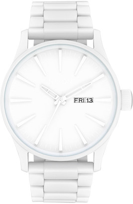 Nixon Sentry SS All White Watch
