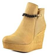 Sbicca Wheelie Women Us 9 Tan Ankle Boot.