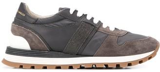 Brunello Cucinelli Contrast Panel Sneakers