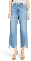 DL1961 Women's High Rise Destroyed Wide Leg Jeans