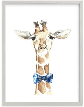 Pottery Barn Kids Dapper Giraffe Wall Art By Minted