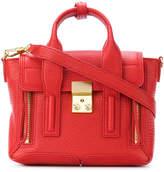 3.1 Phillip Lim gold tone hardware satchel