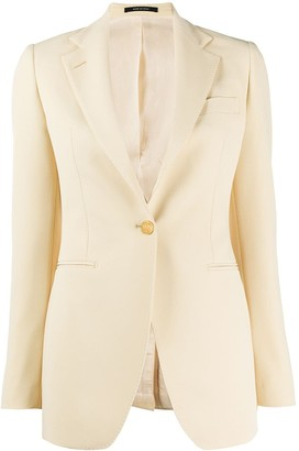Tagliatore One-Button Blazer
