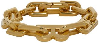 Balenciaga Gold B Chain Bracelet
