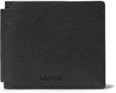 Lanvin - Pebble-grain Leather Billfold Wallet
