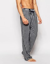 Tokyo Laundry Loungepants In Gingham With Contrast Wasitband