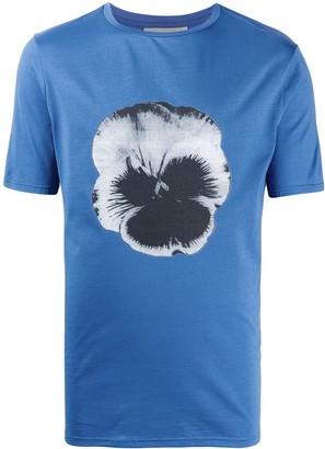 Frankie Morello floral-print crew-neck T-shirt