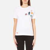 Paul Smith Women's Why Not Patches Top White