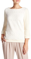 Three Dots Amy Sweatshirt