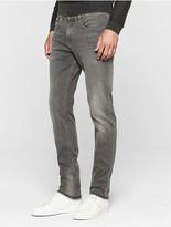 Calvin Klein Slim Straight Mid-Grey Wash Jeans