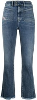 Diesel high rise flared jeans
