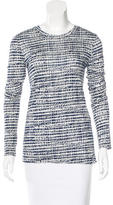 Derek Lam Printed Long Sleeve T-Shirt