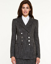 Le Château Tweed Double Breasted Blazer