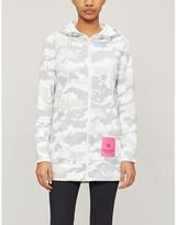Calvin Klein Camouflage-print cotton-jersey hoody
