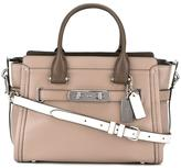 Coach Swagger tote - women - Calf Leather - One Size