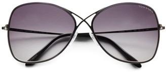 Tom Ford Colette 63MM Rimless Aviator Sunglasses
