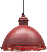 Warehouse Baselite Pendant, Distressed Red