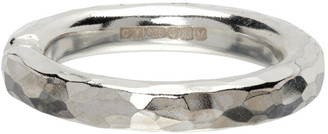 Chin Teo Silver Transmission Ring