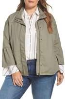 Caslon Bell Sleeve Utility Jacket