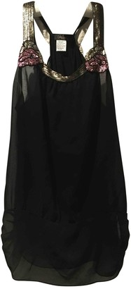 Collette Dinnigan Black Silk Top for Women