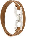 Salvatore Ferragamo double Gancini bracelet
