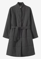 Toast Quilted Wool Cotton Coat