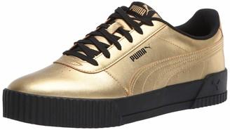 Puma Women's Carina Sneaker Team Gold Team Gold Numeric_5_Point_5