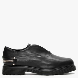 Daniel Reko Black Leather Loafers