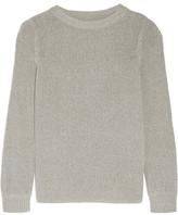 Enza Costa Cotton-Blend Sweater