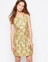 Traffic People Tease Dress In Jacquard