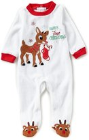 Baby Starters 3-9 Months Baby s First Christmas Footed Coverall