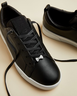 Ted Baker Branded Leather Trainers