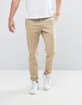 Sisley Chinos In Slim Fit