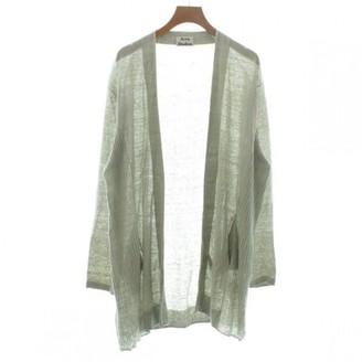 Acne Studios Grey Linen Knitwear for Women