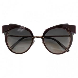Marc Jacobs Purple Metal Sunglasses