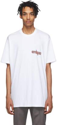 Givenchy White Oversized Scorpio T-Shirt