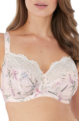 Fantasie Carena Full Figure Floral & Lace Side Support Underwire Bra
