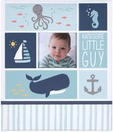 "Carter's Under The Sea ""Handsome Little Guy"" Loose Leaf Memory Book in Blue"