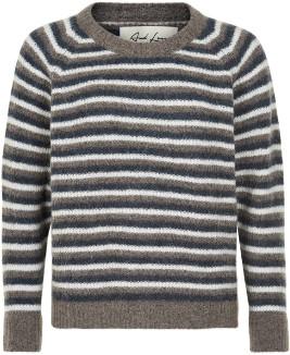 And Less - Multi Stripe Albambina Sweater - l | polyamide/multi stripe